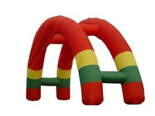 Cheap inflatable rainbow arch for sale