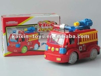 Best selling toy fire engine with light and music