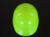 CE & ANSI Hi-viz green color safety Helmet