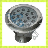 2012 Hottest 12V Round IP68 18w high power led underwater light