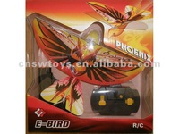rc bird Hot sale remote control flying bird + flapping wings+lifelike flapping wings (with an infrared gun)
