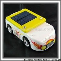 XRF-042 Educational toy and gifts yellow solar powersolar mini-bus