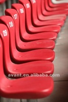 2012 Hot sale fixed seating stadium chairs for indoor & outdoor