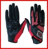 Knuckle protection motor racing glove