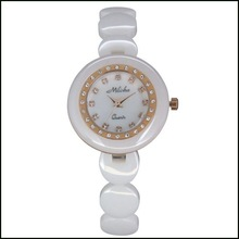 High quality fashional and popular woman ceramic watch for summer