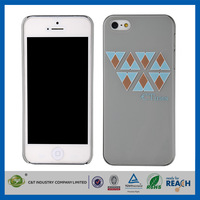 C&T Fashion geometric triangle rubberized handphone cover for iphone 5