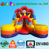 inflatable double lane slide ,commercial inflatable slide,EN14960 certified