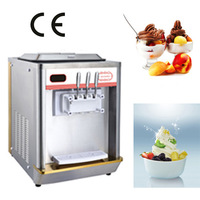 Table model machine to make frozen yogurt 2014 price for best selling (ICM-T112)