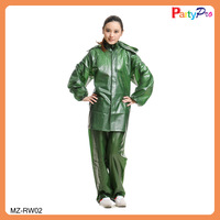 Hot Sale Many Sizes Bright Color Motorcycle Raincoat
