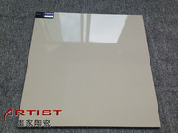 soluble salt sahara beige tiles super glossy nano coating size 600x600mm