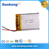 Wholesales rechargeable small battery rechargeable li-ion battery pack 3.7v 300mah