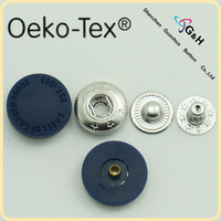 nylon plastic cap snap button