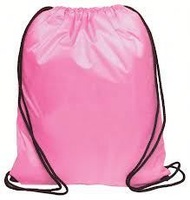 Top quality New recycle 210D polyester foldable string backpack
