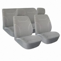 water proof car seat cover universal made of polyester front seat and rear seat