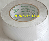 High resistant UV double sided weave cloth tape