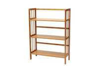 2014 new design eco-friendly living room furniture bamboo book case