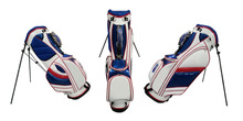 Custom High Quality PU Waterproof Golf Stand Bag (SNF-10213)