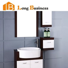 LB-JX2033 Small high gloss lacquer modern bathroom cabinet