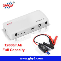 Portable Mini 12000mAh Multi Function Jump Starter Power Station for Phones and Notebook