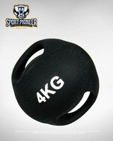 double handles medicine ball fitness ball