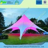 Dia. 12mx H 6m star shaped tent, star marquee, star shade