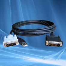 Computer Audio Video Cable Assembly Supplier & Manufacturer for DVI Cable