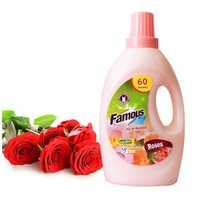 Rose Scent High Quality Famous 2L fast cleaning Liquid Laundry Detergent