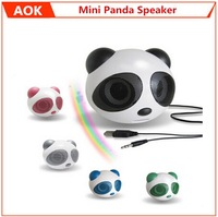 Mini Panda Speaker For iPod Mobile Phone MP3/MP4 and Computer