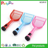 High Quality Colorful Pet Scoop With Waste Bag