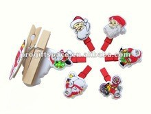 hot new products for 2016 alibaba website china supplier wholesale christmas discount painted mini wooden clothes pegs