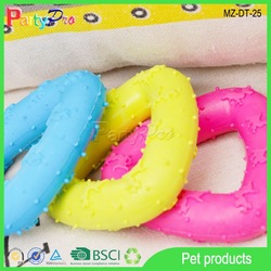 2015 China Wholesale Pet Toy Color Triangle Dog Toy