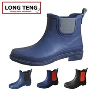 New Design Girls Cute fashion ankle Rubber Rain Boots
