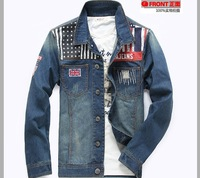 Motorcycle Wholesale Price Cheap Denim Coat new design new fashion jean jacket