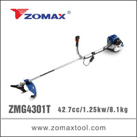 alibaba express 43cc ZMG4301T garden brush cutter for cutting and splitting wood