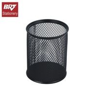 Metal mesh pencil holder