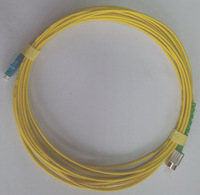 Fiber Optic Patch Cord/jumper Simplex Single Mode LC/UPC-FC/APC 2.0MM