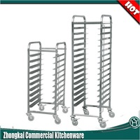 kitchen equipment bakery bread rack trolley cart R001