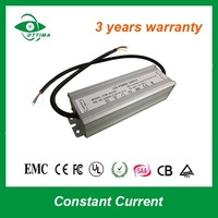 3 years warranty 3000ma constant current waterproof led driver 100w
