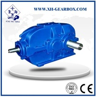 DBY series hard tooth face tapered cylindrical gearbox drive