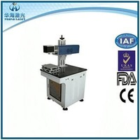 Huahai laser rubber mini laser stamp making machine CO2 laser printing machine