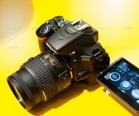 New Nikon D5500 Digital SLR Camera Body with Nikon AF-S DX NIKKOR 18-55mm f/3.5-5.6G Lens