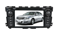 8 inch double din touch screen car dvd gps for nissan teana