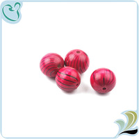 Wholesale Round Loose Flat Wood Beads On promotion