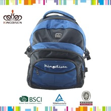High quality 1680D leisure hiking backpack with Metal logo
