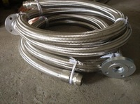 Corrugated Metal Flexible Braid Hose with Flange Joints\/Connection