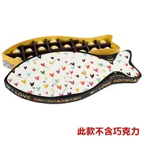 hot sale new design fish shape chocolate paper/corrugated box wholesale
