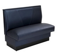 2015 hot sale booth seating quick ship booth leather furniture