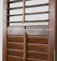 Antique Solid Timber Wooden Shutter Plantation