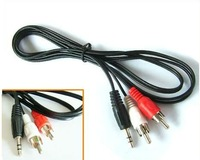 2 RCA Stereo audio/video cable