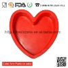 Red Heart Shape Silicone cake mould Valtine's day cookie cutter comply with FDA